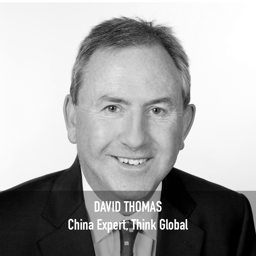 DAVID THOMAS - CHINA EXPERT, THINK GLOBAL