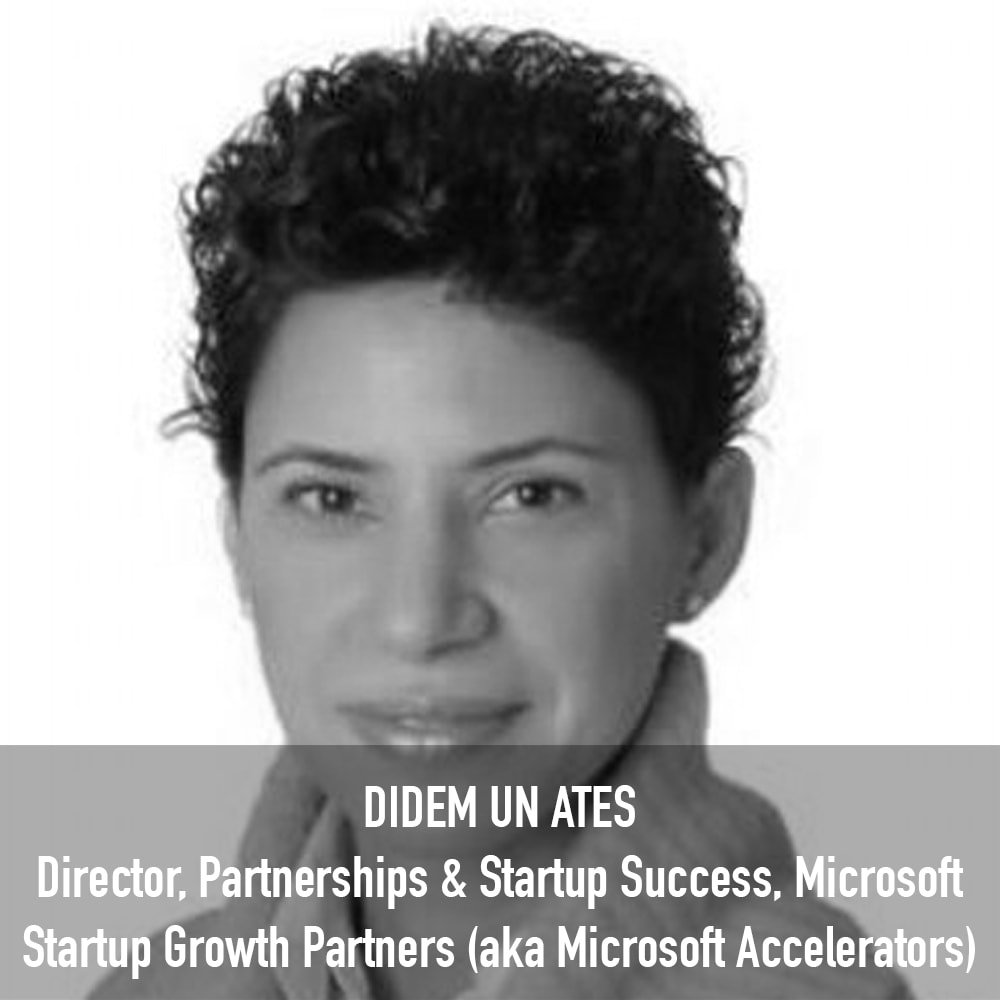 Didem Un Ates - Director, Partnerships & Startup Success Microsoft Startup Growth Partners (aka Microsoft Accelerators)