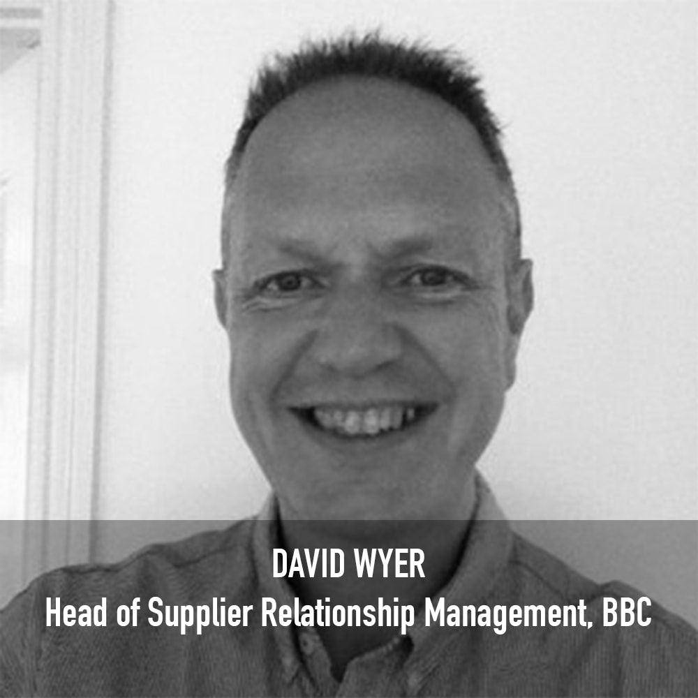 David Wyer - Head of Supplier Relationship Management BBC