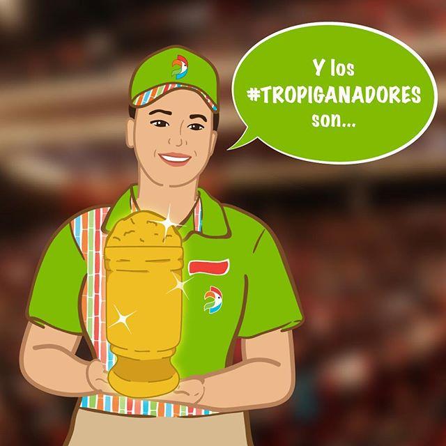 ¡Noche de premios! 🏆😁 Si pudieras darle una estatuilla a uno de nuestros #tropiplatos, ¿a cuál se lo darías? #adriantropical