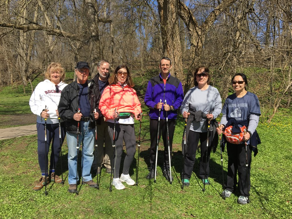 April 2017 Nordic Walk at Pawlings River Trail