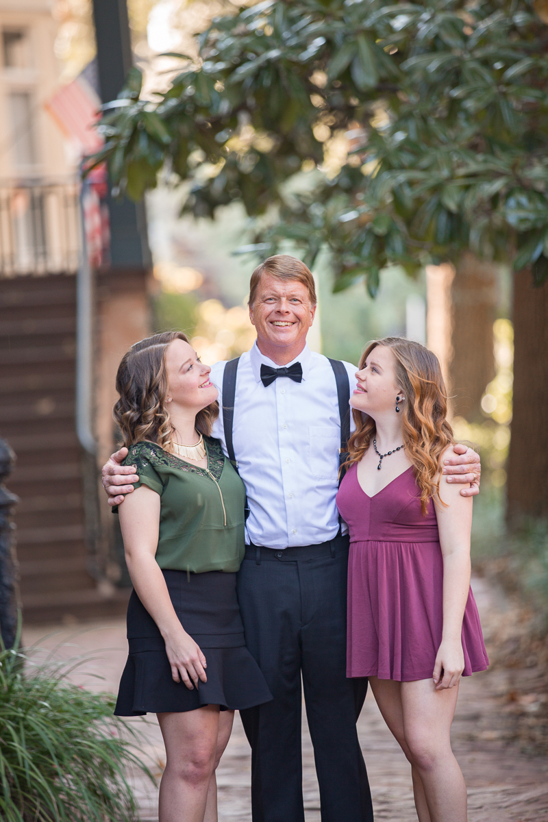 dad & daughters / lifestyle / savannah ga