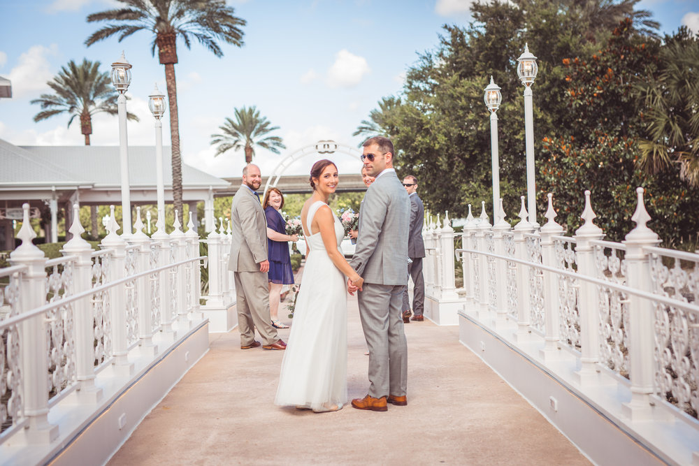 Grand Floridian Wedding Party
