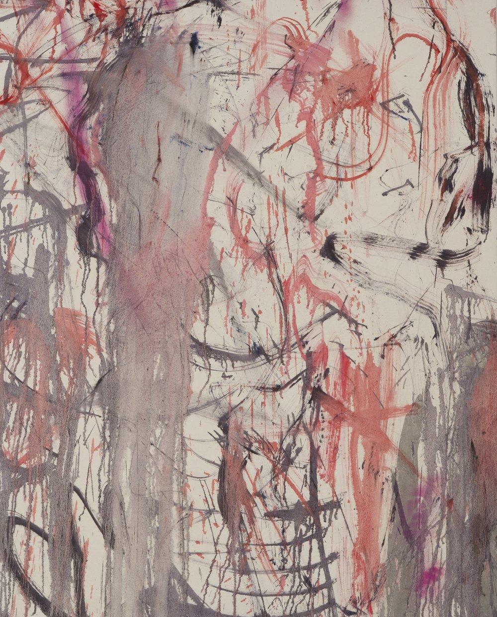 Oil on canvas/160x130cm 2017