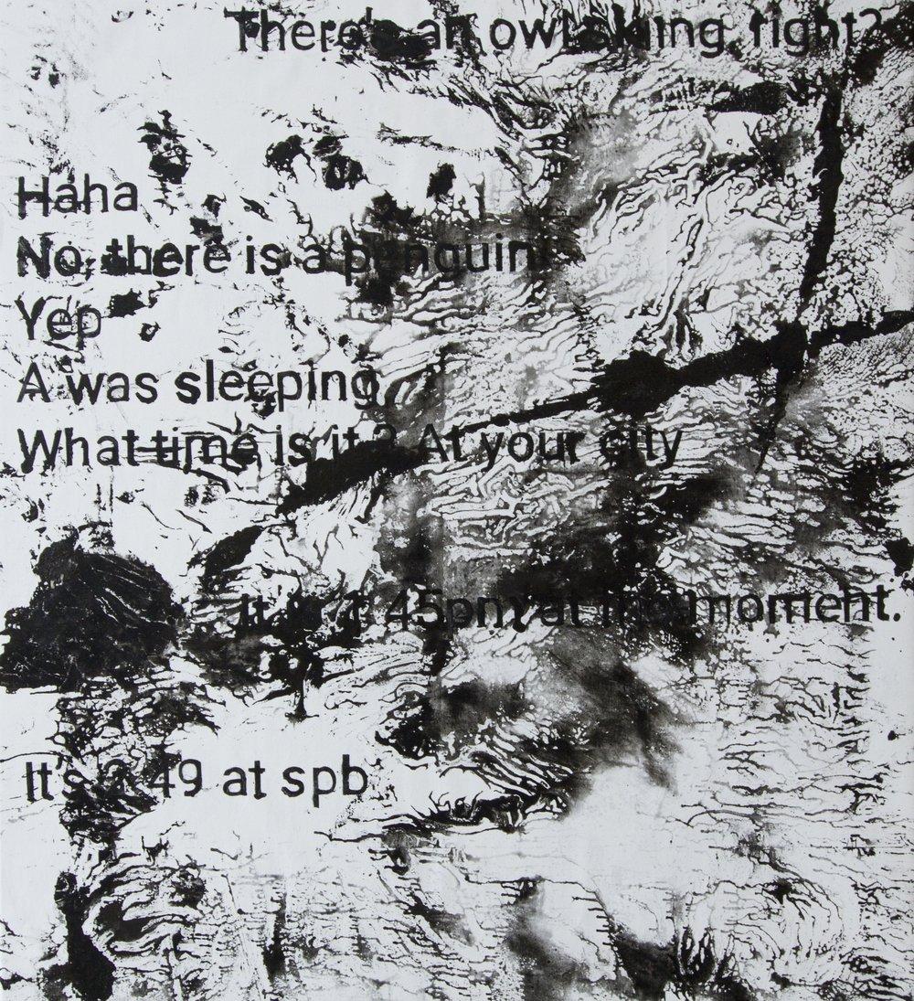 Oil on canvas/150x130cm 2018