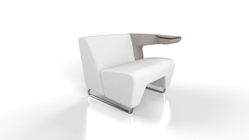 MyWay Lounge Seating + Tablet Arm
