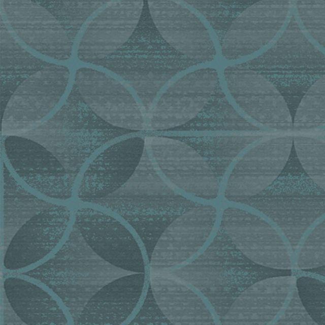 KI Fabric: Windflower in Teal