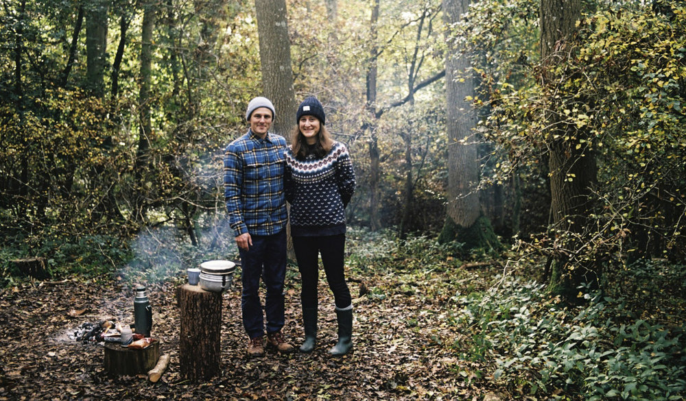 Andrew & Emma –founders.   Pentax MX 35mm - Kodak Ektar 100 film