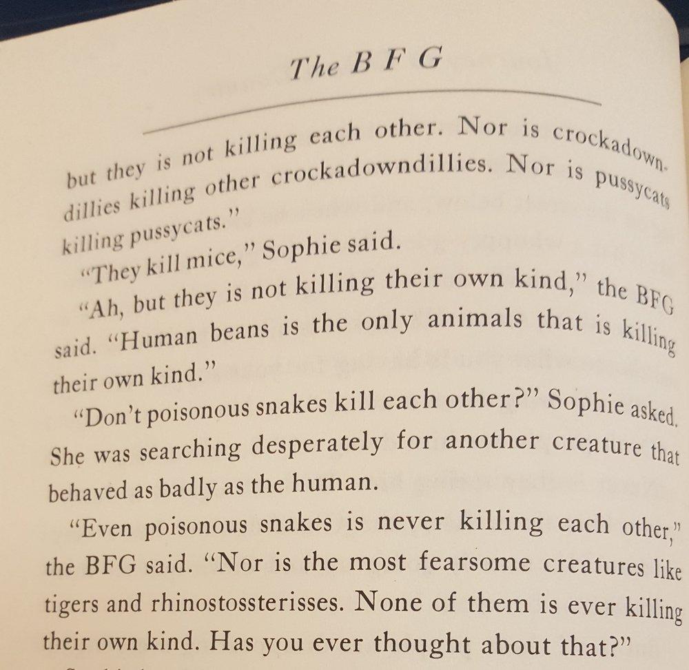 The BFG excerpt