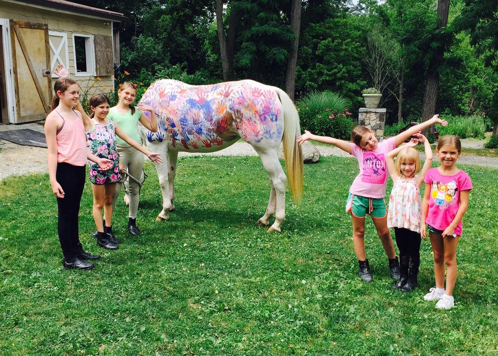 Summer Horseback Riding Camp