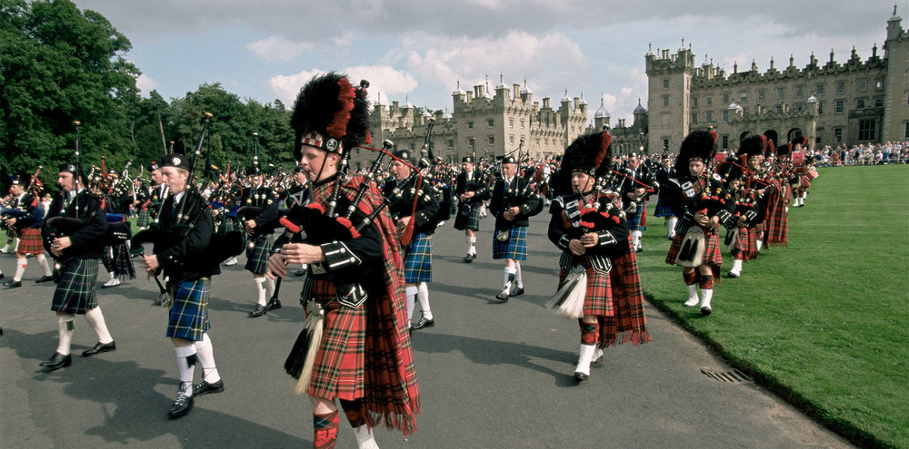Floors Castle, Copyright VisitScotland / Paul Tomkins