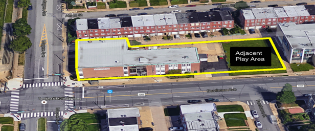 (6600-6622 Bustleton Ave Aerial View)