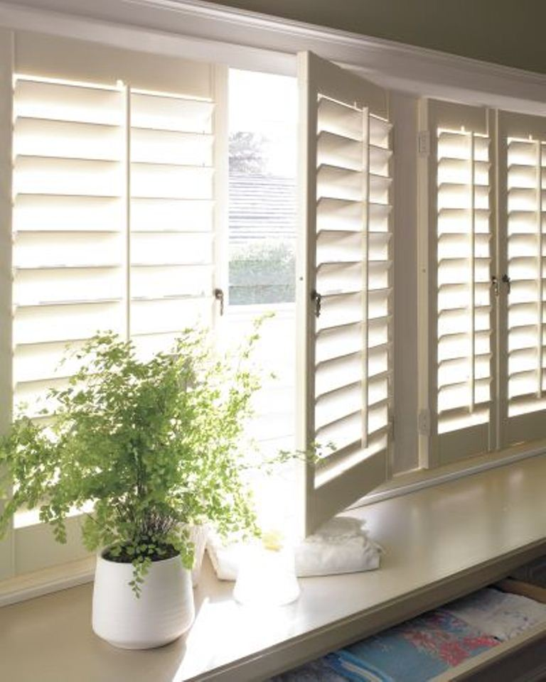 Planation Shutter with Two Inch Louver