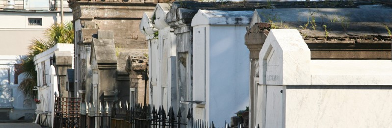 St. Louis Cemetery #1 – Basin at St. Louis Street in the Treme