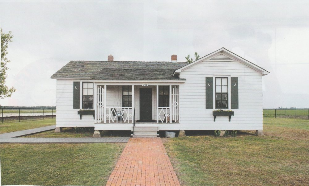 The boyhood home of Johnny Cash in Dyess, Arkansas (population 370 in 2017) – now restored and located at 4791 W. County Road 924      Photo: Courtesy of  Lonely Planet