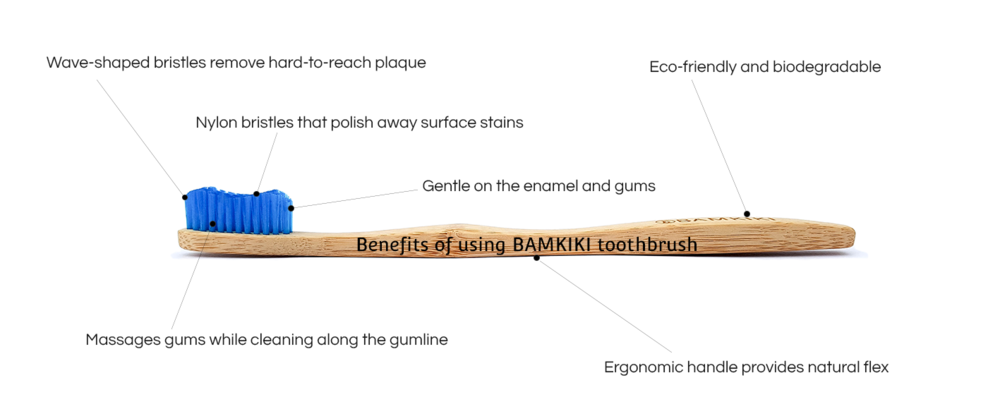Benefits of using Bamkiki as your biodegradable and environmentally friendly toothbrush in Australia.