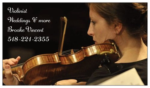 Saratoga Violin 518.221.2355 |    www.saratogaviolin.com    Saratoga Violin is delighted to serenade for your special occasion! With decades of playing and experience, I can bring your event to a new level of musical sentiment, sophistication, and grace. Whether you would like solo violin, duet, trio, or a classic string quartet, I can accommodate any combination of instruments to cater to your preference, style, and budget. From travelling in boats, to trollies, to ski lifts, to four wheelers, I have played on mountain tops, islands, and other unique locations and always ready to brave a new challenge! My specialty is musical selections. I am happy to arrange whatever your heart's desire for special requests along with standard repertoire- European Classical music, Broadway, movies, Opera, Pop, Reggae, R&B, Folk, Alternative, Jazz, any top 10 radio song of the day or anything in between. I have even sung, played guitar, and cello, for very special requests. Please visit my website for more information, resume, bio, recordings, music selection ideas, pictures, and bride testimonials:  www.saratogaviolin.com