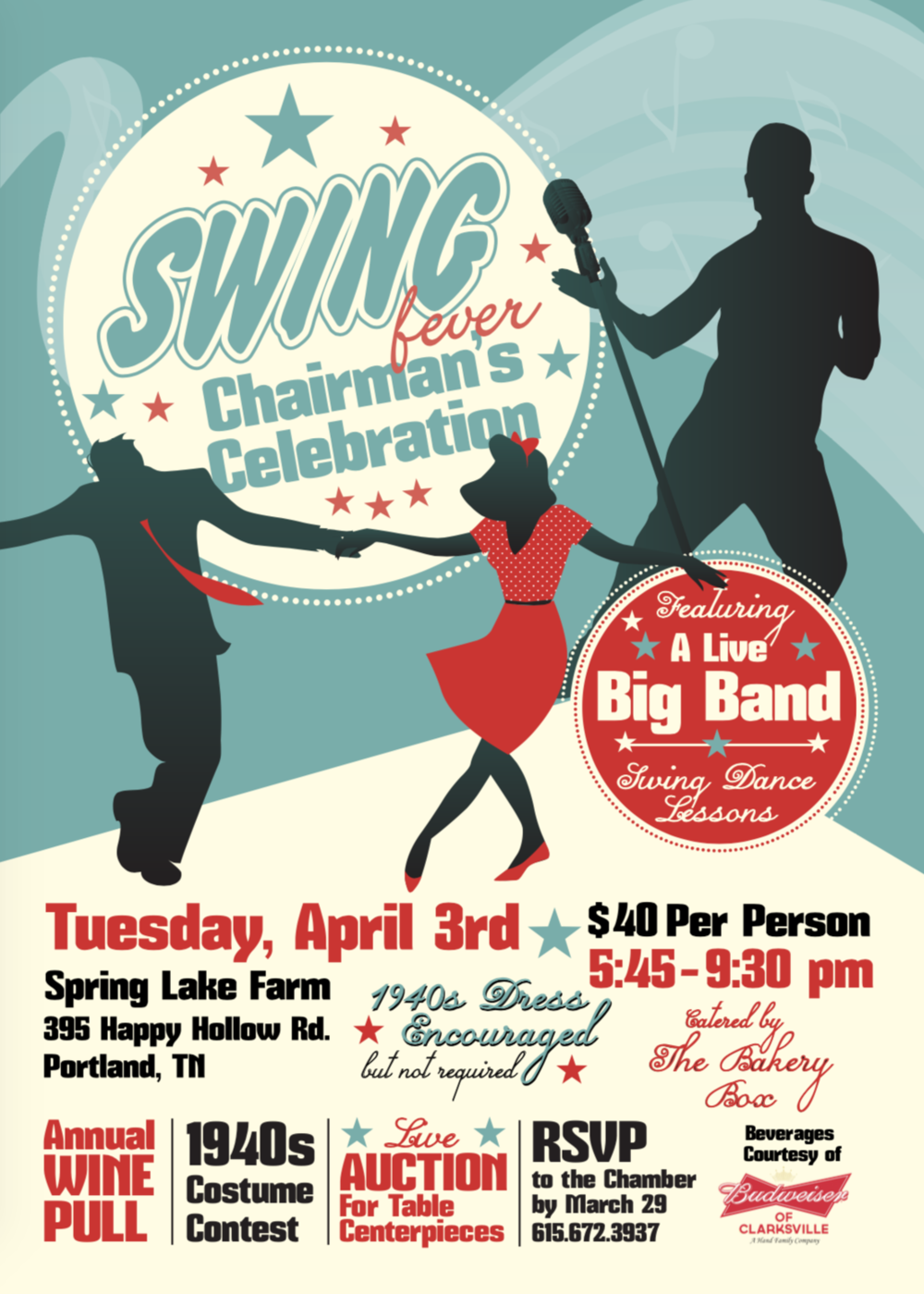Swing Fever: Chairman's Celebration!