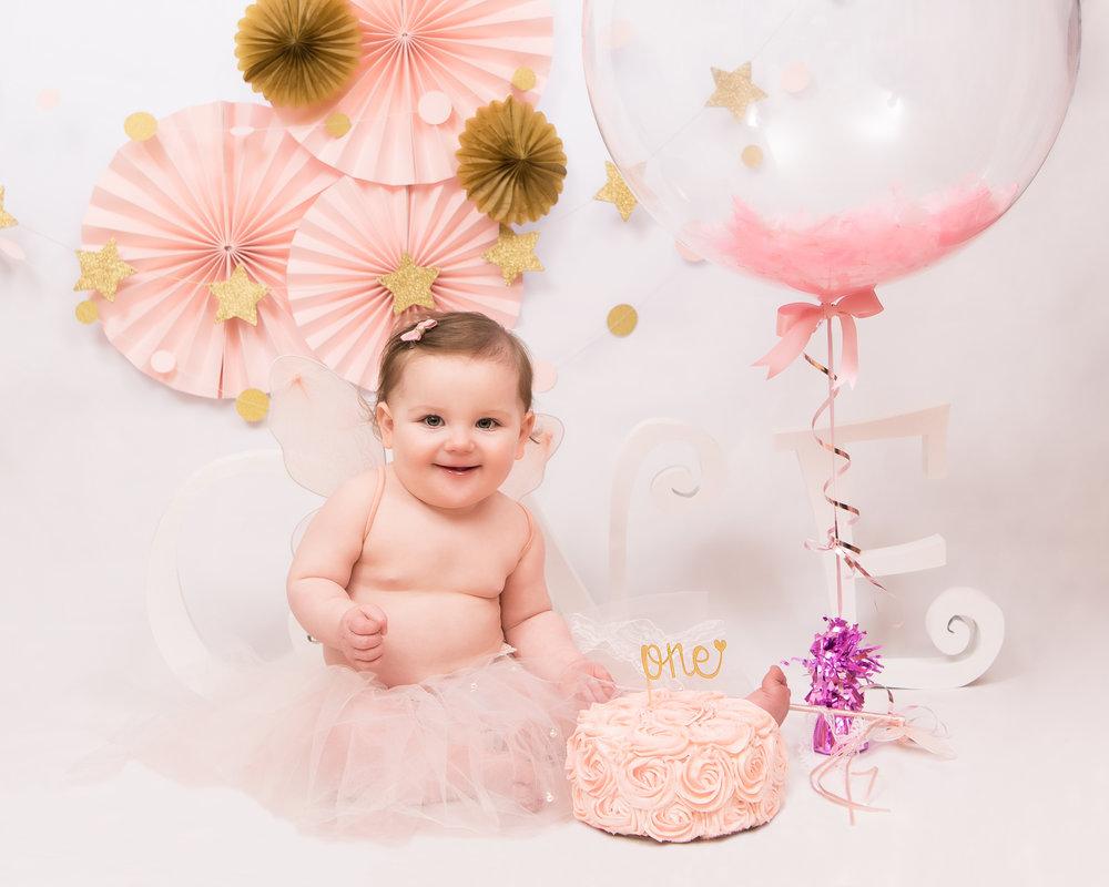 Cake Smash Photoshoot Newborn Photography
