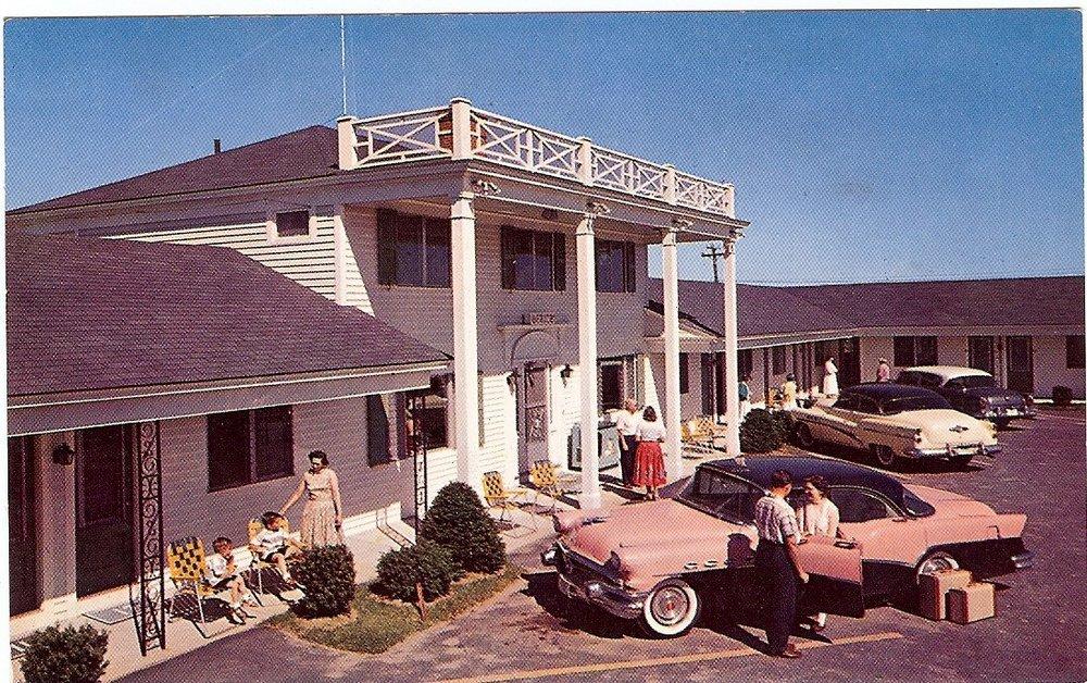 Vintage 1950's motel portsmouth new hampshire
