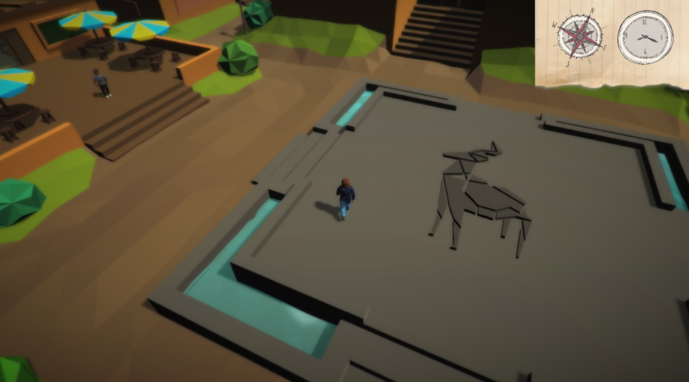 A narrative rich, exploration game based around the mysterious town of Eden Falls.