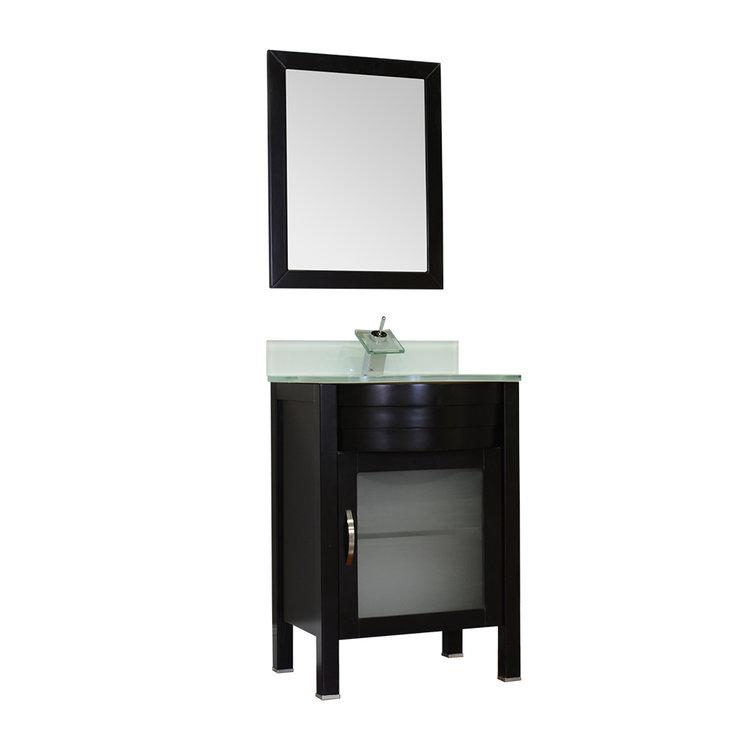 Bathroom Vanities With Glass Tops