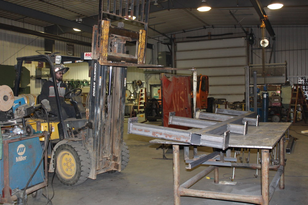 LEARN ABOUT OUR FABRICATION SHOP