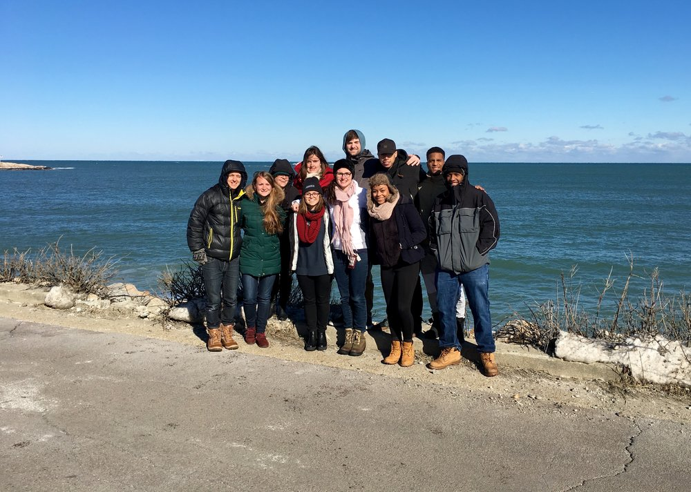 Winter beach trip 2016