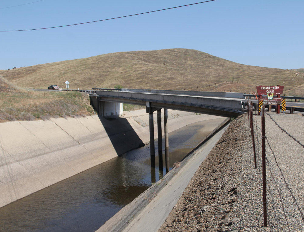 Subsidence   A Critical Challenge to Friant-Kern Canal Water Deliveries   Learn More