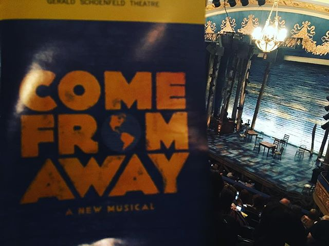#theatrenight #ComeFromAway #treatyoself