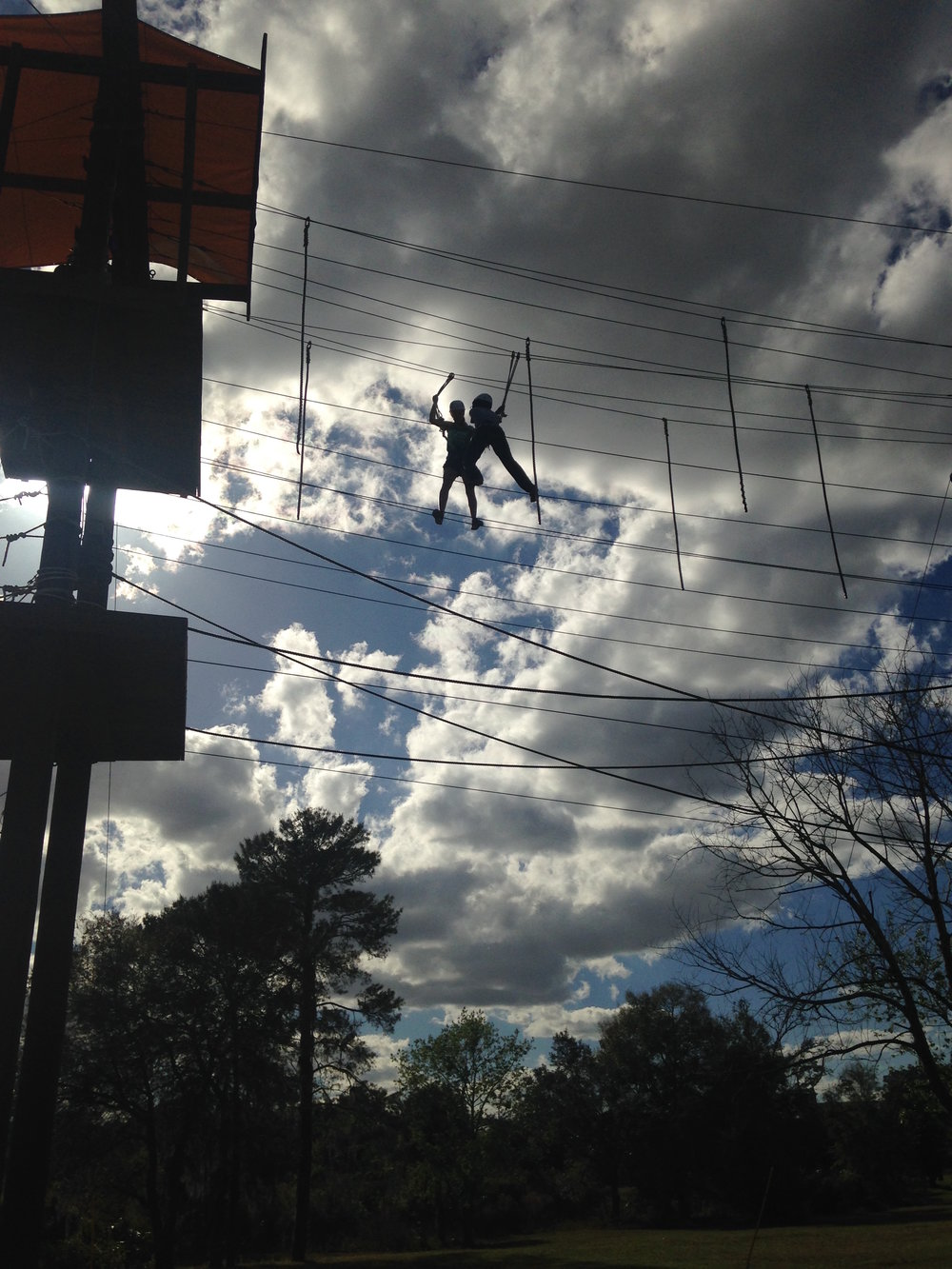 UCF'S CHALLENGE COURSE EVENT
