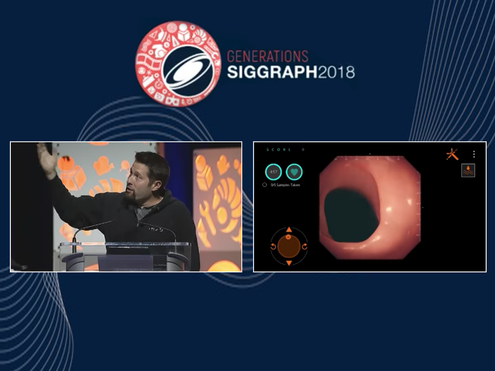 Presenting at SIGGRAPH's Real-Time Live in front of 2,500 developers where we won 3rd place -