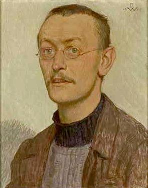 Herman Hesse - 1905 Portrait by Ernst Würtenberger (1868–1934)