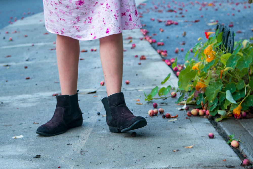 Girl, boots, and crab apples.jpg