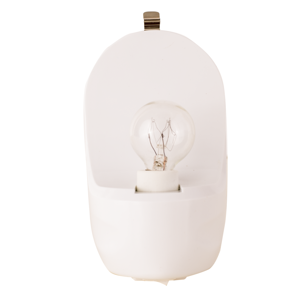 - Easy access to light bulb
