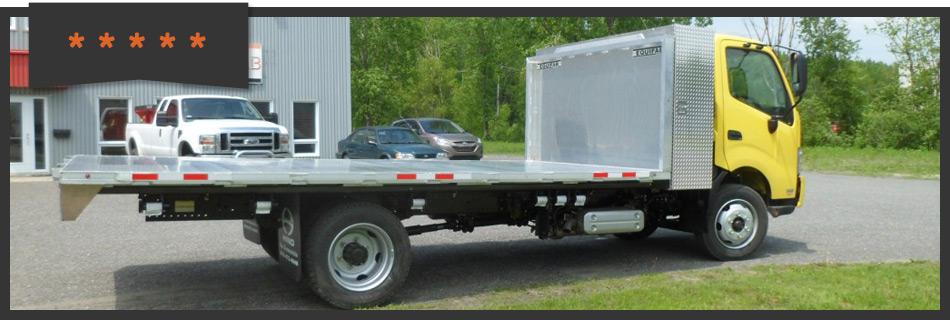Platforms for trucks -