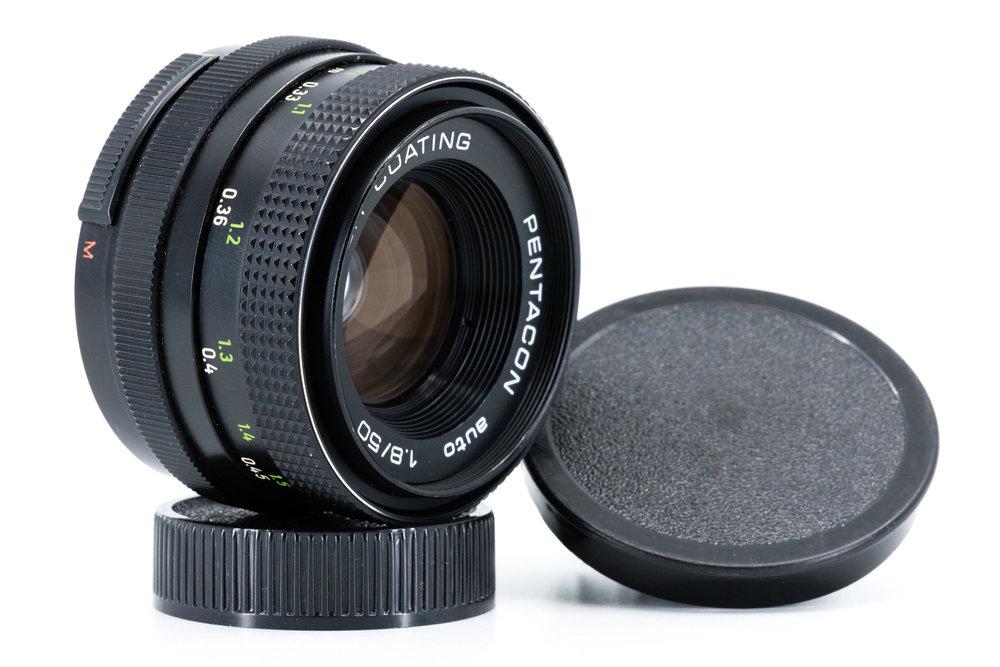 Pentacon 50mm f/1.8