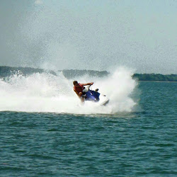Jet Ski fun at Island Head Watersports