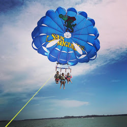 Flying high with Island Head Watersports over Hilton Head Island!