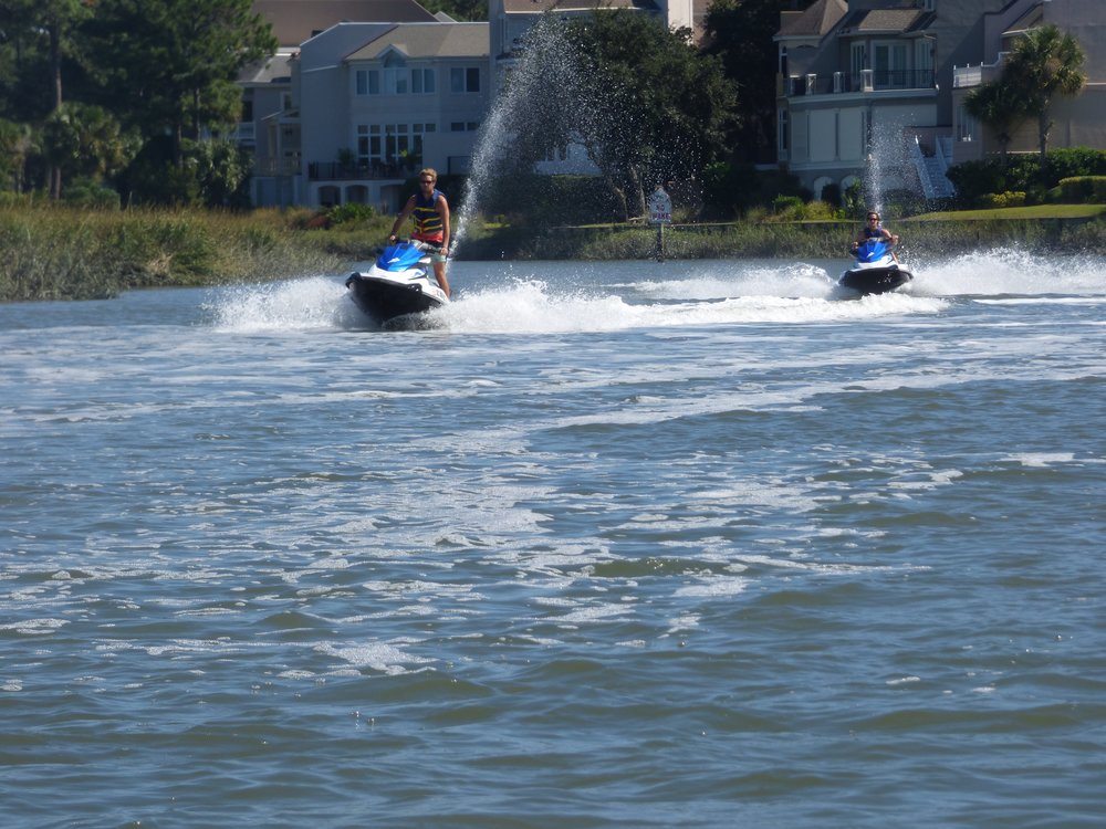 Jet Ski Rental with Island Head Watersports