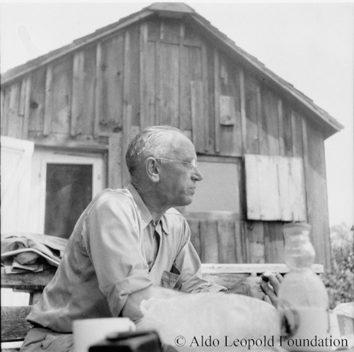 Aldo Leopold,1940. Learn more about his legacy at  The Aldo Leopold Foundation .