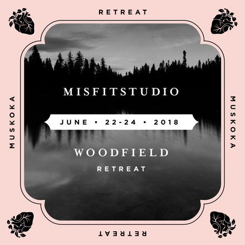 Misfit Studio Retreatis now sold out. - Thank you to everyone who signed up! We can't wait to welcome you to the Campus. Stay tuned for more retreats featuring movement practices from your favourite teachers and studios.