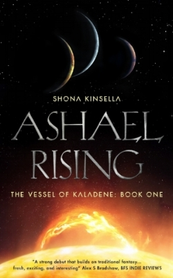Ashael Rising is now available in a beautiful paperback edition. Buy from any large book retailer, order from your local independent book store or even request from your local library. -
