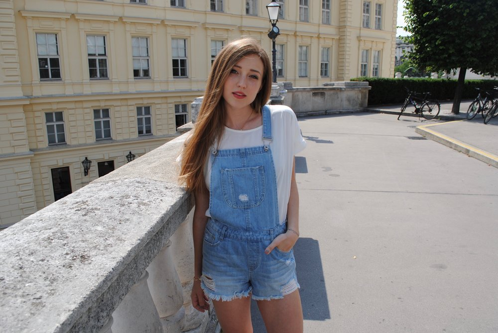 denim overall missguided fashion8
