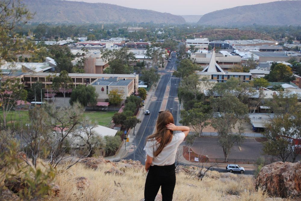 Alice Springs Anzac Hill view