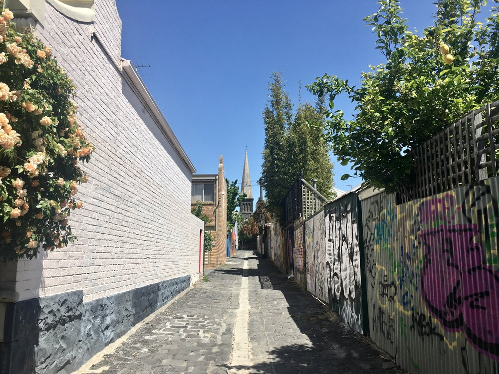 Alley in Fitzroy