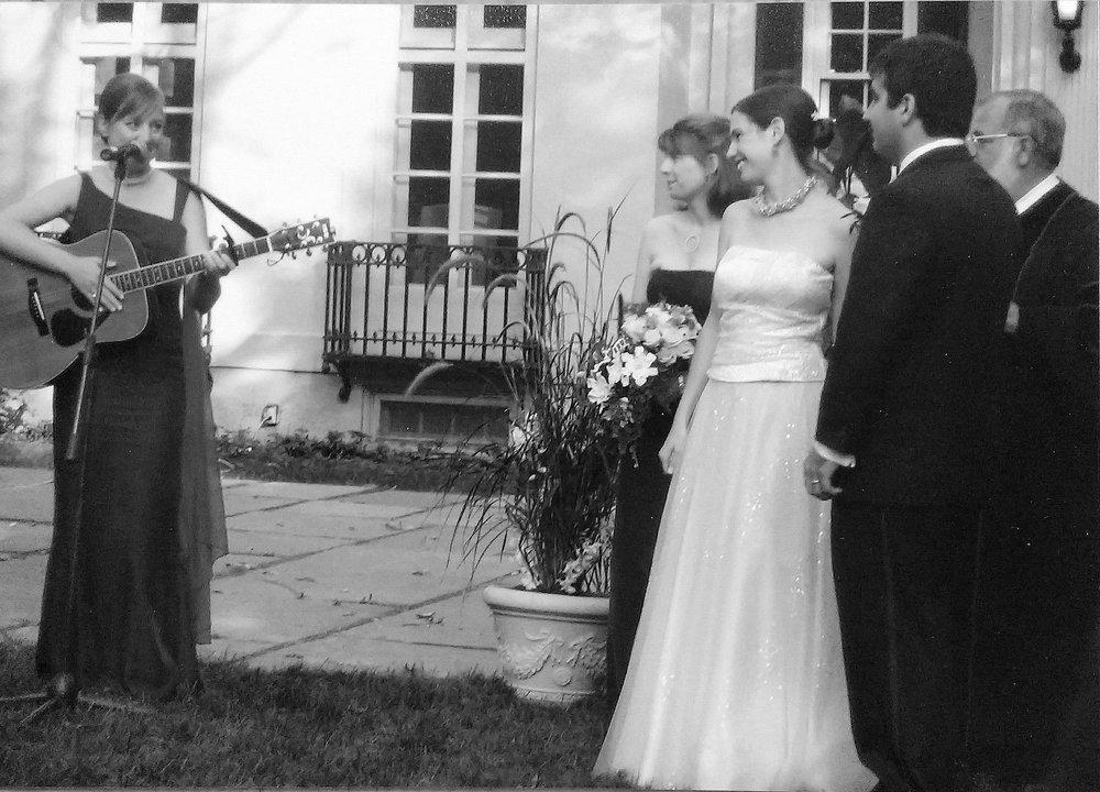 Emilyn the wedding singer