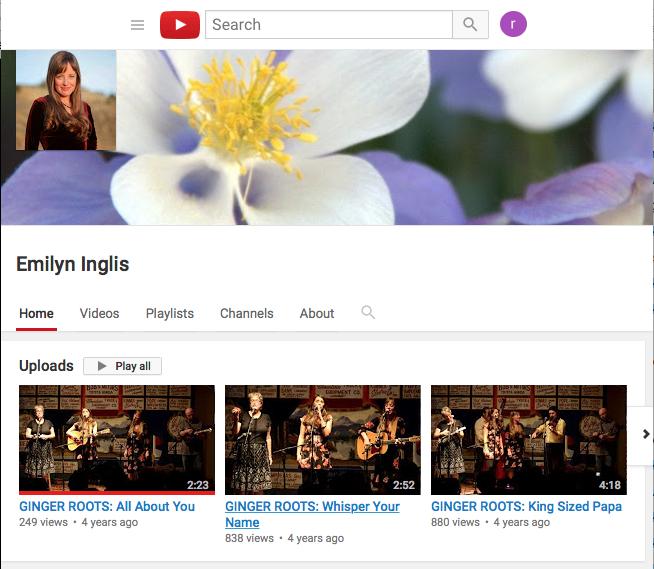Emilyn's Youtube Channel