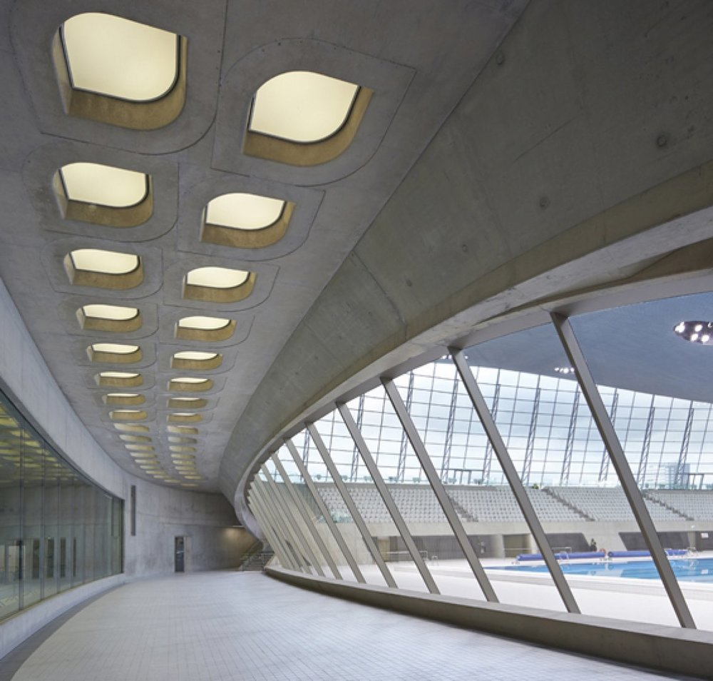 Photo copyright : Hufton + Crow Source :  Zaha Hadid Archives