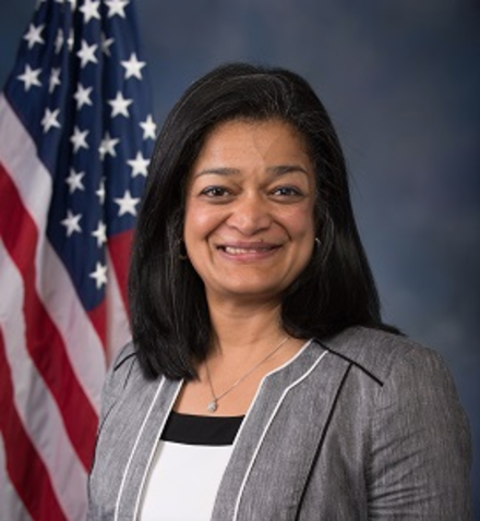 Pramila Jayapal (D) - 7th Congressional District
